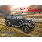 35530 ICM 1/35 German car Type G4 Partisanenwagen
