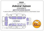 35020 KV models 1/35 Admiral Saloon (ICM #35472) - Двусторонние маски