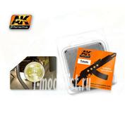 AK-202 AK Interactive Линзы прозрачные желтые AMBER 1mm