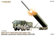 UA72328 Modelcollect 1/72 Nato M1014 MAN Tractor & BGM-109G Ground Launched Cruise Missile new Ver
