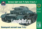 35007 ARK-models 1/35 Немецкий легкий танк Т-II J