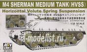 AF35030 AFV Club 1/35 Track set on M4 Sherman medium tank (HVSS)