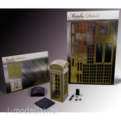 MDR3517 Metallic Details 1/35 Телефонная будка №2