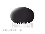 36106 Revell Aqua paint black as resin, Matt