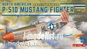LS-006 Meng 1/48 NORTH AMERICAN P-51D MUSTANG FIGHTER