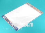 70125 Tamiya Пластик белый, толщина 1,2мм, размер В4 (364х257мм) 2 листа.