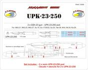 RVAC72009 R.V.AIRCRAFT 1/72 UPK-23-250