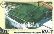 72038 Pst 1/72 Kv-t Soviet Ww2 Armoured Tow Tractor