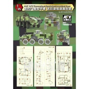 TW60019 AFVClub 1/35 ROC TIFV Camouflage Specialized Masking Tape
