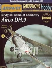 A4 Answer 1/33 Airco DH.Nine