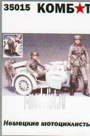 35015 Комбат 1/35 Немецкие мотоциклисты