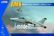 K48026 Kinetic 1/48 AMX Ground Attack Aircraft - Brazil & Italy