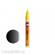 127301 Molotow ONE4ALL Marker 127HS METALLIC #223 Black 2 mm