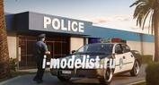 07068 Revell 1/25 Полицейская машина '05 Chevy Impala