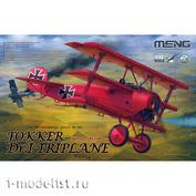 QS-002 Meng 1/32 Самолет Fokker Dr.I Triplane